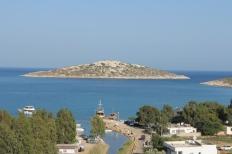 Boğsak Island viewed from the minaret