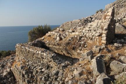 Cistern in the eastern neighborhood on Boğsak Island