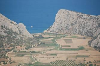 Tahtalimanı (Palaiai) viewed from Tokmar fortress