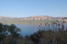 Kargıcak Strait viewed from Dana Island