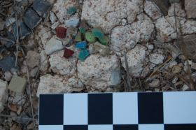 Tesserae from a basilica (?) on Dana Island