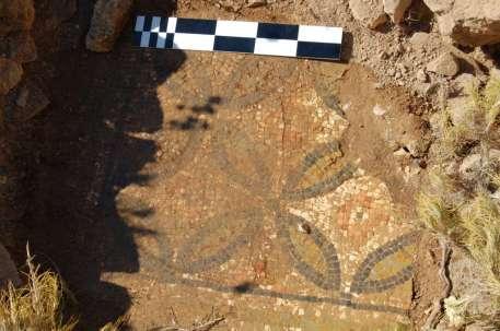 Mosaic pavement on Güvercin Island