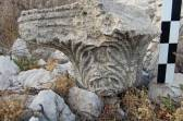 Colum capital in the southern part of Boğsak Island