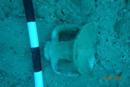 Amphora off Boğsak Island, 2014