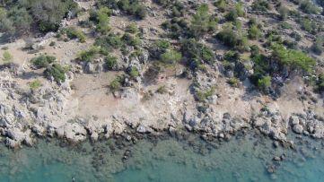 Boğsak Bay, aerial photograph