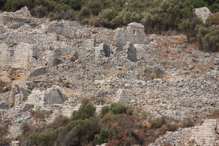 Eastern neighborhood of Boğsak Island