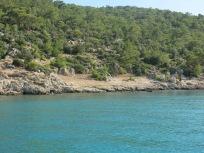 Slipways in Boğsak Bay