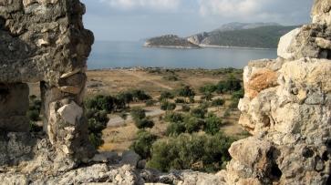 Boğsak Island viewed from Limankalesi