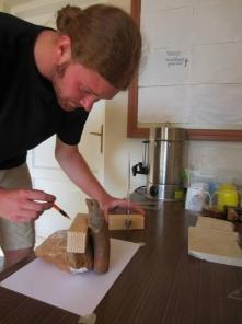 Rick Wohmann, pottery expert