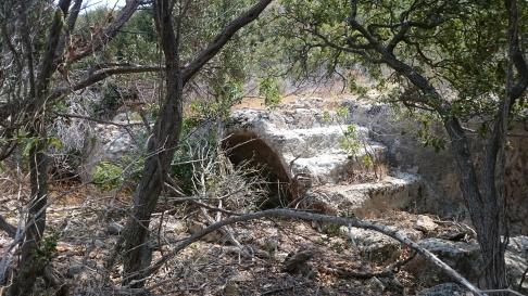 Steps on Dana Island