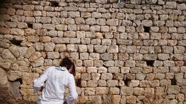 Wall of Church I on Boğsak Island