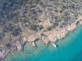 Dana Island shore