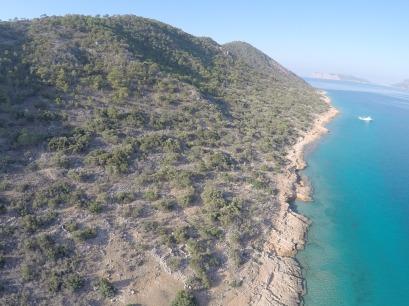 Dana Island shore from Northern side