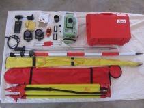Total station components