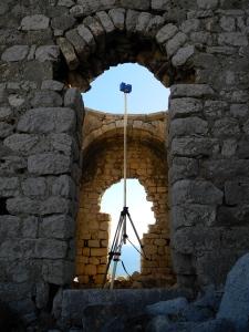 3D scanning on Boğsak Island Church V
